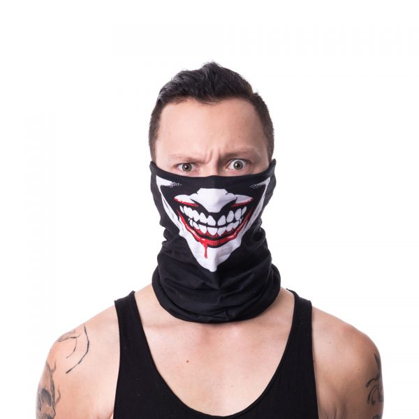 Joker Face Snood Poizen Industries