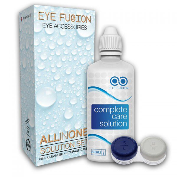 60 ml Complete Care Lens Solution Eye Fusion Funky Vision Eye Accessories Lenses Care