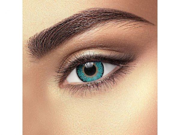 Funky Vision Eye Fusion Eye Accessories Aqua 3 Tone Colour 90 Days