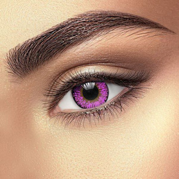 Funky Vision Eye Fusion Eye Accessories Violet 3 Tone Colour 90 Days