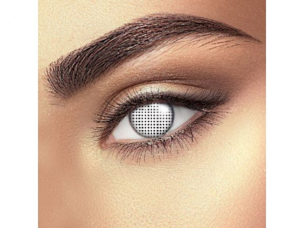 Funky Vision Eye Fusion Eye Accessories White Mesh Daily