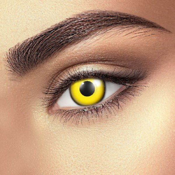 Funky Vision Eye Fusion Eye Accessories Block Yellow 90 Days