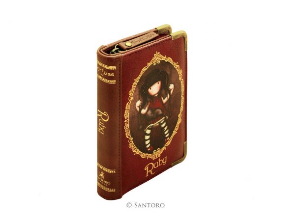 Santoro Gorjuss Chronicles Purse Wallet Cosmetics Case Accessory Case Ruby