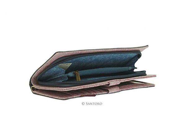 Santoro Gorjuss Tall Purse Wallet Cosmetics Case Accessory Case Toadstools