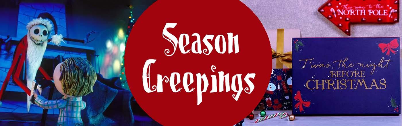 Christmas Season Creepings Greetings Gifts His Her Decor Nightmare Before Christmas Disney Holiday Season Festive
