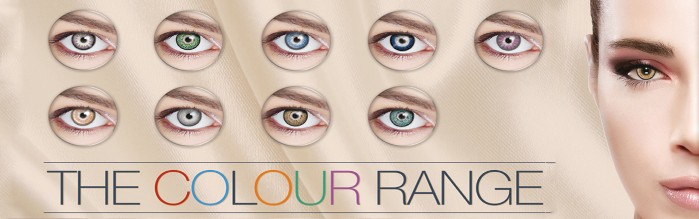 All Daily Single 90 Day Wear Use Eye Accessories Contact Lenses Funky Vision Eye Fusion