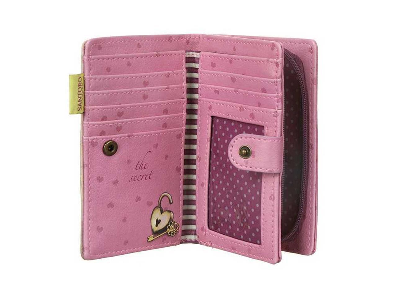 Santoro Gorjuss Small Purse Wallet Cosmetics Case Accessory Case The Secret
