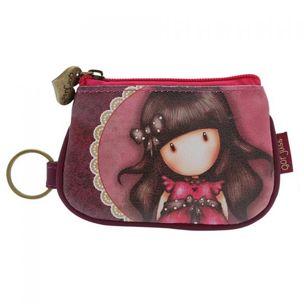Santoro Gorjuss Keychain Zip Purse Wallet Cosmetics Case Accessory Case Ladybird