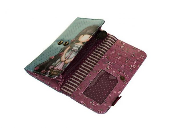 Santoro Gorjuss Long Purse Wallet Cosmetics Case Accessory Case Rosie