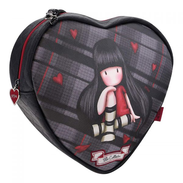 Santoro Gorjuss Tartan Shoulder Bag The Collector