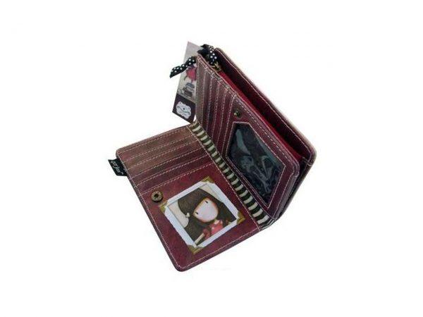 Santoro Gorjuss Small Purse Wallet Cosmetics Case Accessory Case New Heights