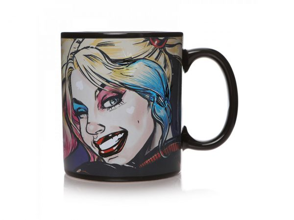 DC Comics Universe Harley Quinn Heat Changing Mug Half Moon Bay Drinkware Kitchenware Home Decor Cartoon Suicide Squad Birds Of Prey