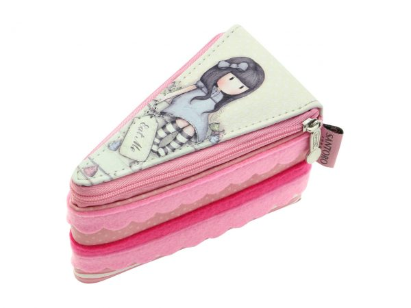 Santoro Gorjuss Sweet Cake Accessory Case Purse Wallet Trinket Spoon Charm