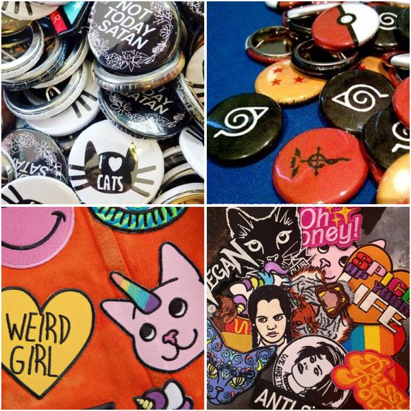 Patches & Pin Badges