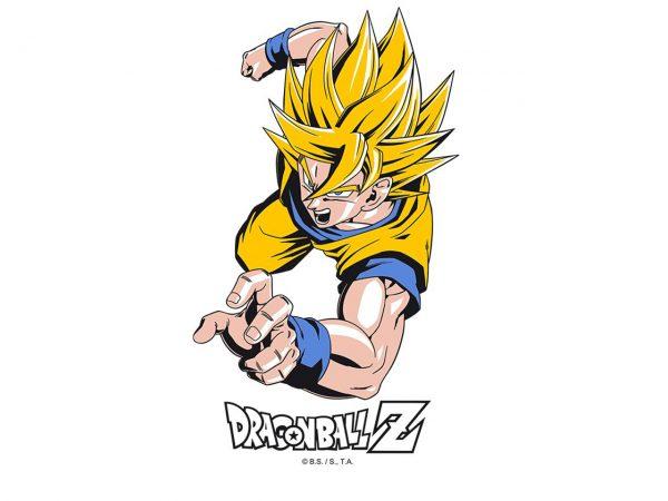 Dragon Ball Z Goku Super Saiyan Drinking Glass Simple Minimalist Yellow Kitchenware Drinkware Manga Anime Alternative Official Merchandise Collectors