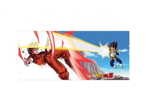 Dragon Ball Z Goku Vs Vegeta Super Saiyan Kaioken Mug Full Colour Print Kitchenware Drinkware Manga Anime Alternative Official Merchandise Collectors