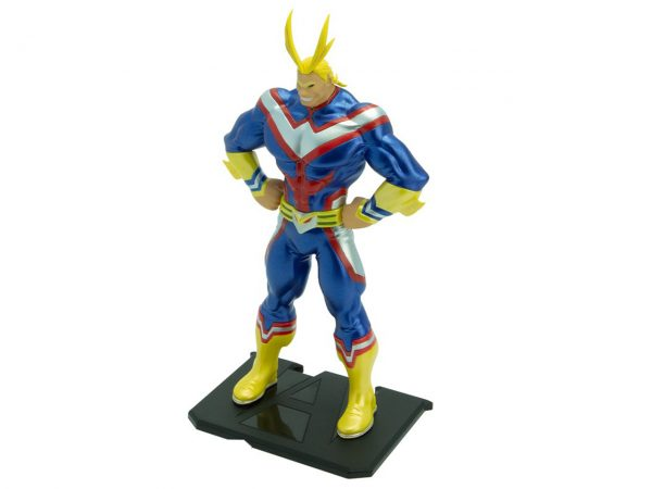 My Hero Academia Figurine All Might Metal Foil Paint Exclusive Collector Anime Manga One For All Official Merchandise Alternative