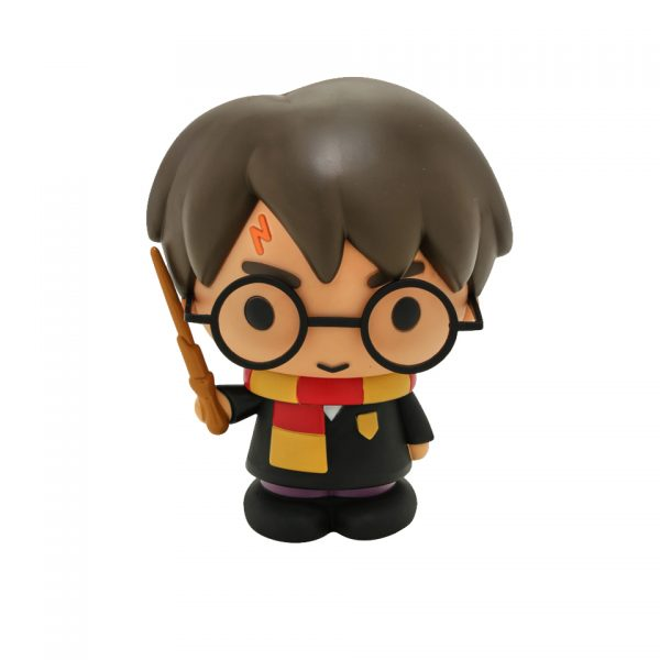 Harry Potter Chibi Bust Coin Bank Hogwarts Griffindor Wizard Money Box Novelty