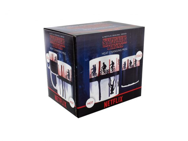 Official Stranger Things Heat Changing Mug Demogorgon Hawkins Mind Flayer Netflix Pyramid International Drinkware Kitchenware Home Decor