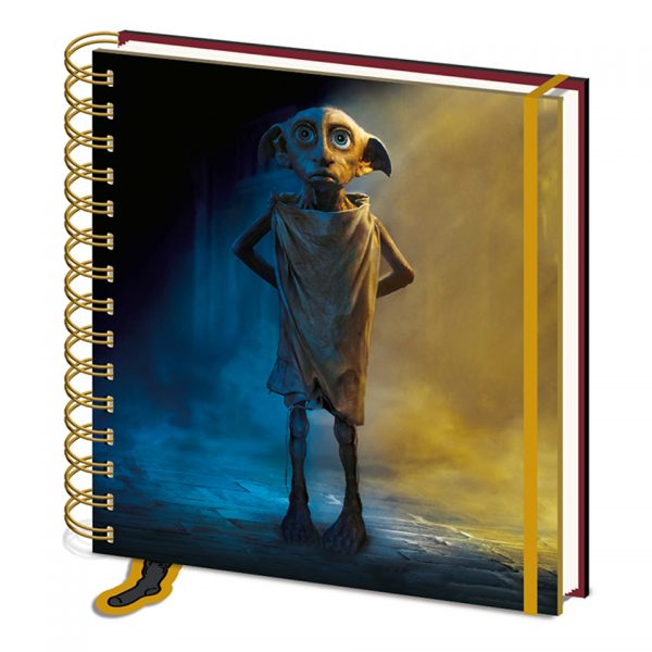Harry Potter Dobby Notebook Square Free Elf No Master Sock Pyramid International Official