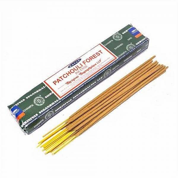 Satya Patchouli Forest Boxed Incense Sticks Cleansing Aromatherapy Fragrance Aroma