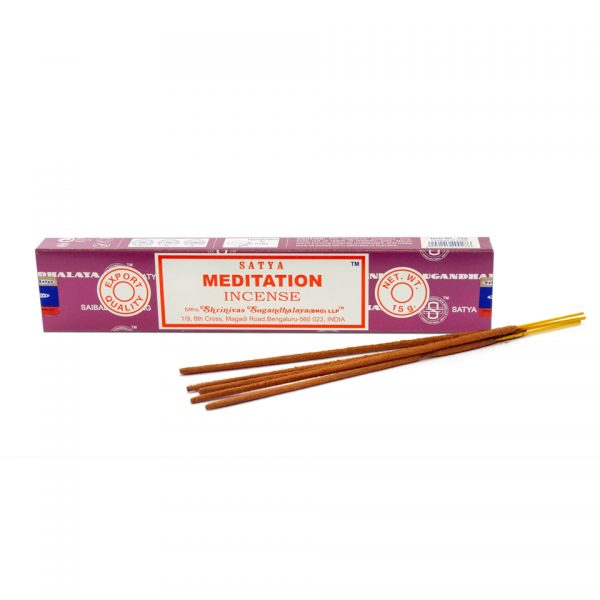 Satya Meditation Boxed Incense Sticks Cleansing Aromatherapy Fragrance Aroma