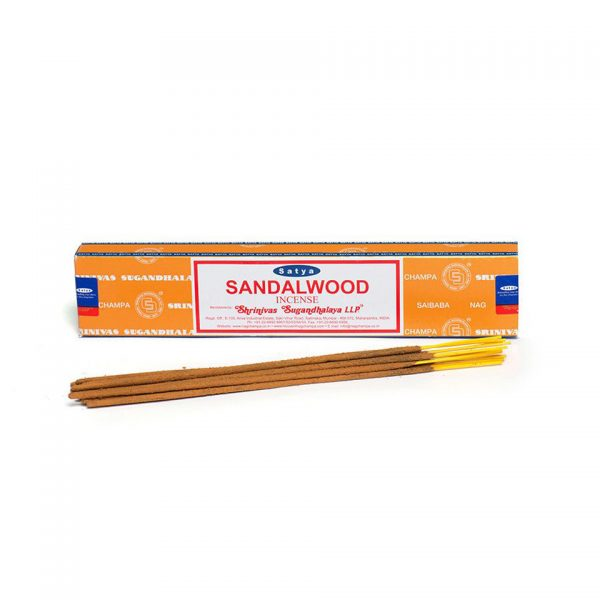 Satya Sandalwood Boxed Incense Sticks Cleansing Aromatherapy Fragrance Aroma