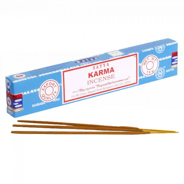 Satya Karma Boxed Incense Sticks Cleansing Aromatherapy Fragrance Aroma
