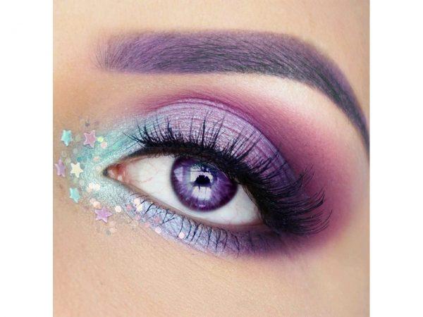 Stargazer Lip and Eye Pencils Pastel Pink Blue Silver Purple Lilac