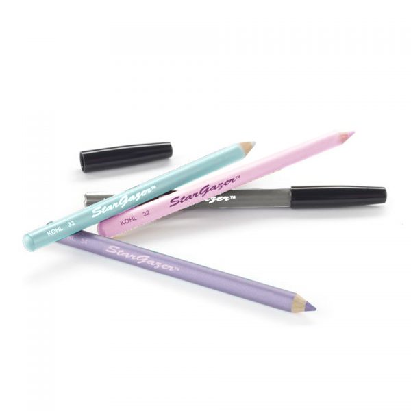 Stargazer Lip and Eye Pencils Pastel Pink Blue Silver Purple Lilac