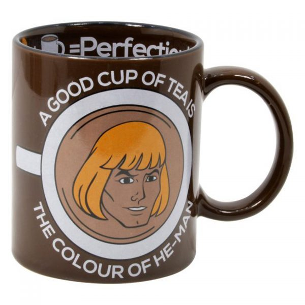 Masters Of The Universe He-Man Mug Tea Coffee Cuppa Hot Drink 1980s Quirky Funny Comics
