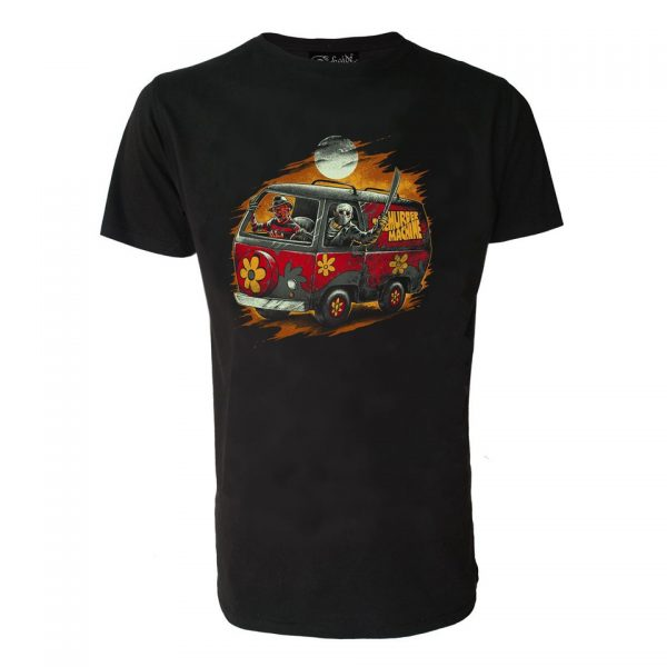 Scooby Doo Horror Machine T-Shirt Mystery Alternative Fashion Jason Voorhees Freddy Krueger