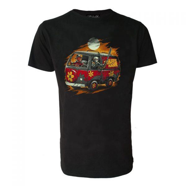 Scooby Doo Horror Machine T-Shirt Mystery Alternative Fashion Jason Voorhees Freddy Krueger