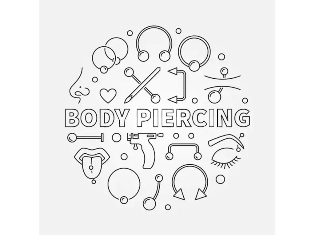 Body Piercing Appointment Booking Deposit