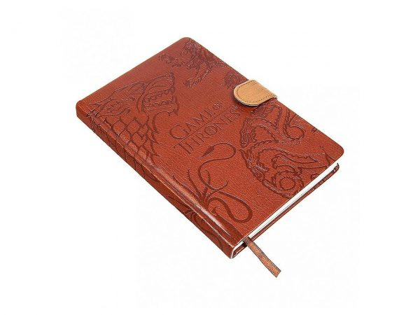 Game Of Thrones (Sigils) Premium A5 Notebook Leather-look House of Stark