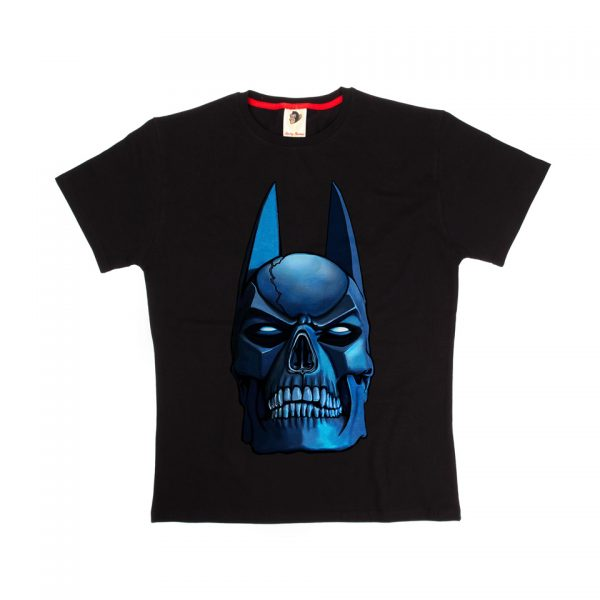 Batman Skull T-Shirt Monkey Business DC Comics Universe Superhero Classic Cult Movie Film Television