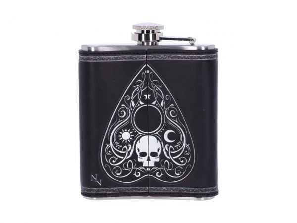 Spirit Board Hip Flask Ouija Magic Occult Spiritual Dark Spirits