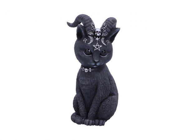Pawzuph Cat Nemesis Now Baphomet Occult Witchcraft Familiar Spiritual Dark Spirits Figure Magic Pentagram