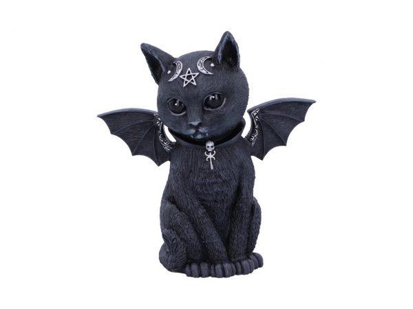Malpuss Cat Nemesis Now Baphomet Occult Witchcraft Familiar Spiritual Dark Spirits Figure Magic Pentagram