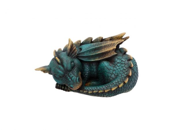 Dozing Dragon Nemesis Now Sleeping Dream Fantasy Mythical Creature Figure Statue