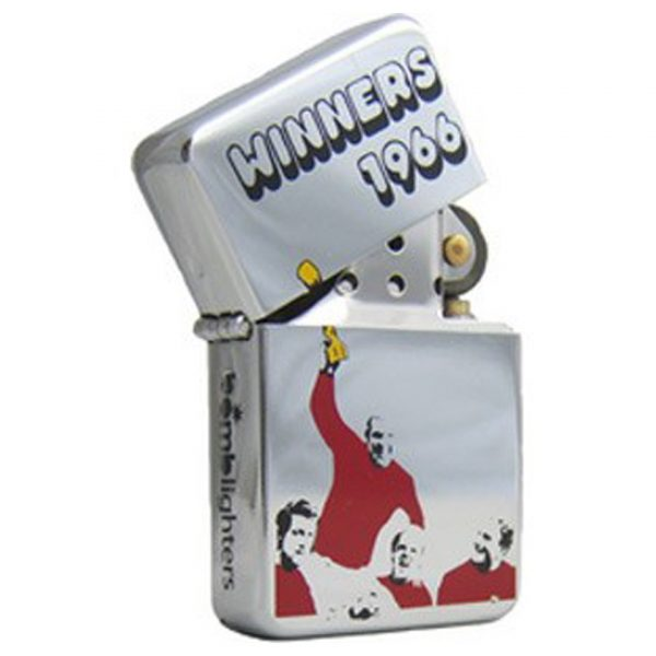 Football World Cup Winner 1966 England Windproof Gas Lighter Bomb Lighters
