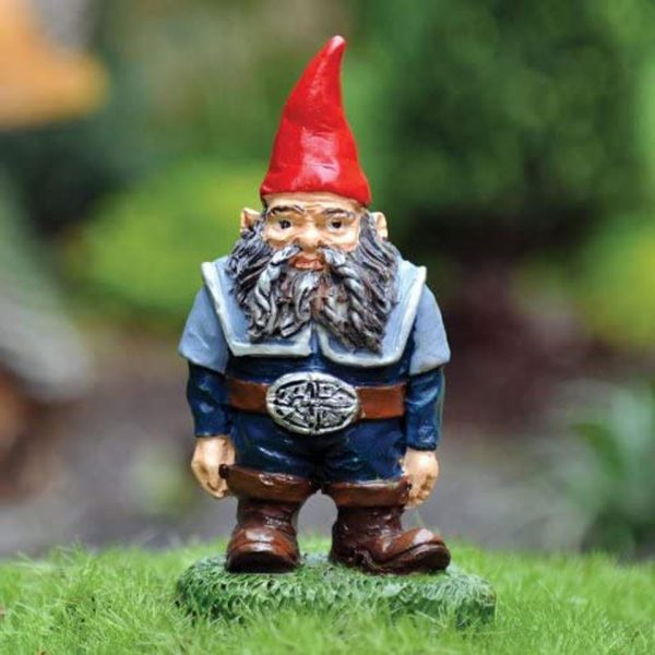 Nick The Fairy Garden Gnome Miniature Fiddlehead Fairies