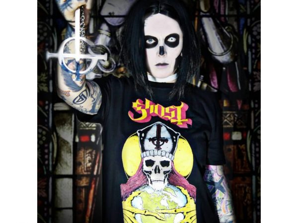 Ghost BC Papa Iconic Band T-Shirt Merch Music Rock Metal Emo