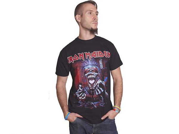 Iron Maiden A Real Live Dead One Iconic Band T-Shirt Merch Music Rock Metal Emo Classic