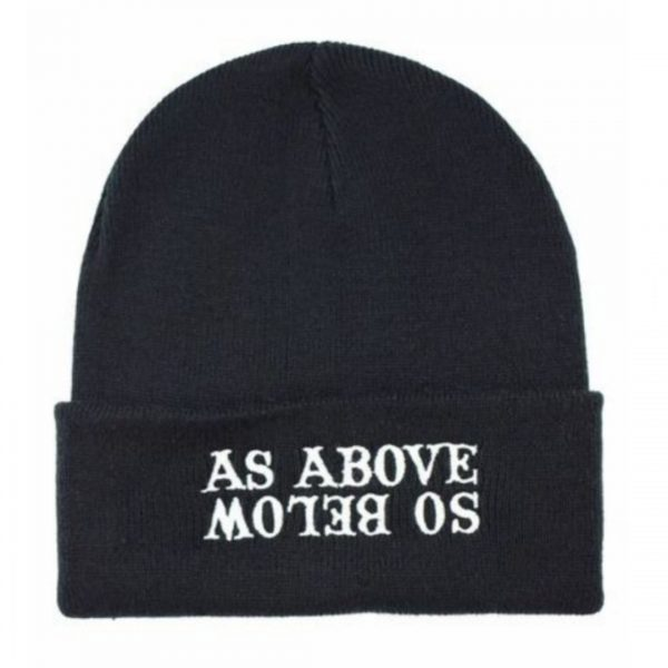 As Above So Below Beanie Hat