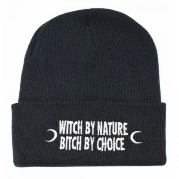 Witch By Nature Beanie Hat