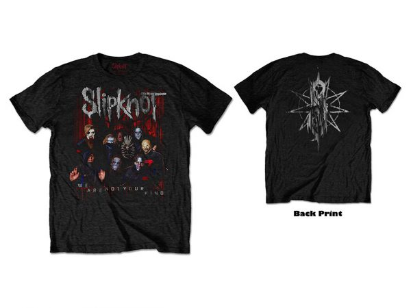 Slipknot WANYK We Are Not Your Kind Iconic Band T-Shirt Merch Music Rock Metal Emo