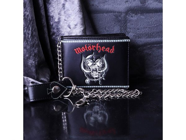 Motorhead War Pig Ace Of Spades Iconic Band Wallet Chain Merch Music Rock Metal Emo