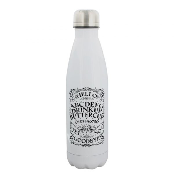 Drink Up Buttercup Ouija Water Bottle Stainless Steel Grindstore Spirit Board Talking