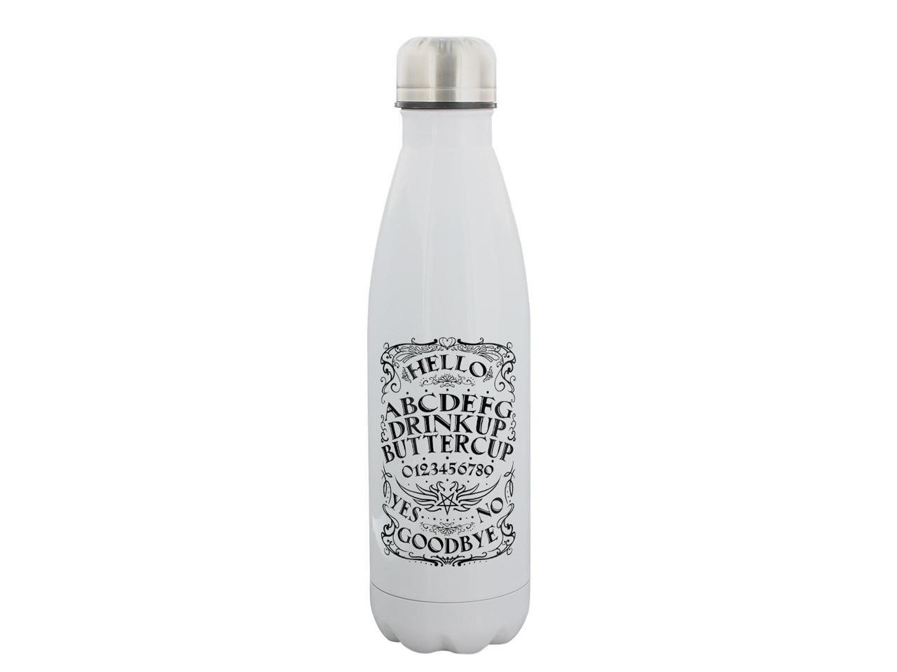 Drink Up Buttercup Ouija Water Bottle Stainless Steel Grindstore Spirit Board Talking